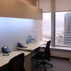 Double workstations. Sufficient natural light. Office furniture provided. (Futura Plaza)