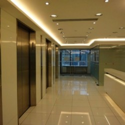 The lift and the reception of business center. Contemporary design. Central Air-Conditioning. (Worldwide House)