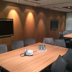Meeting room of business center. Office furniture provided. Equipped with teleconference facilities. Central Air-Conditioning. (Champion Tower)