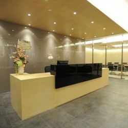 Reception of business center. Chic and contemporary design. Central Air-Conditioning. (Millennium City 5 – BEA Tower)