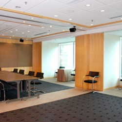Conference room of business center. Chic and modern. Superb office furniture provided. (Central Plaza)