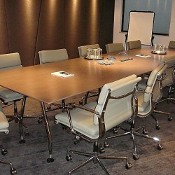 Conference room of business center. Efficient layout. Office furniture of high quality provided. (Hopewell Centre)