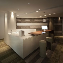 Another break-out area with modern design and superb furniture. (Miramar Tower)