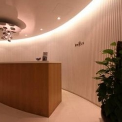 Reception of business center. Contemporary design. Central Air-Conditioning. (Entertainment Building)