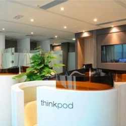 Reception of business center. Chic and unrivaled. Central air-conditioning. Office furniture provided. (Dah Chong Hong Commercial Centre)