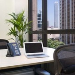 Office area of business center. Broadband network. View from the building. (Luk Kwok Centre)