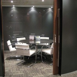 Fashionable conference room of business center. Well-equipped with teleconference facilities. High-class office furniture provided. (Exchange Square Block Two)
