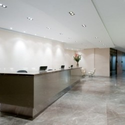 Reception along with lounge area. Trendy and stylish. Central air-conditioning. Office furniture provided. (One Island East)
