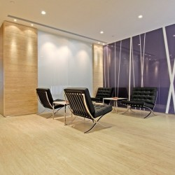 Lounge area. Modern design with prime office furniture. (Cambridge House)
