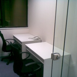 Conference room of business center. Double workstations. Abundant natural light. (On Hong Commercial Building)