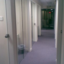 Corridor of the business center. Numerous business centers available in the building. (On Hong Commercial Building)