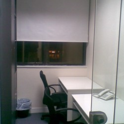 Room of business center. Double workstations. Office furniture provided. Abundant natural light. (On Hong Commercial Building)