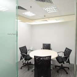 Meeting room of business center. Office furniture provided. Central Air-Conditioning. (9 Queen's Road Central)