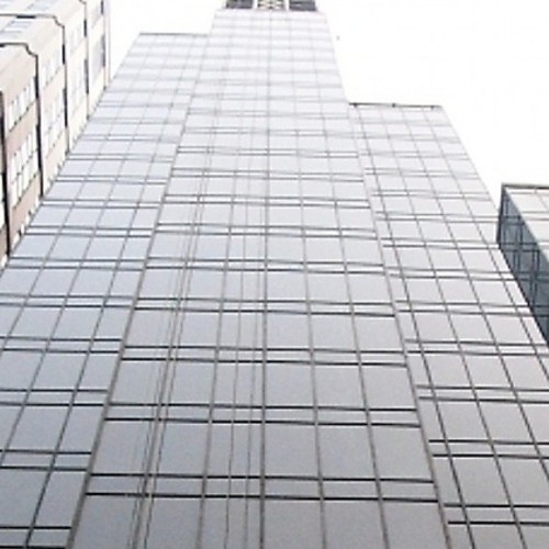 The facade of China Hong Kong Tower. Located on Hennessy Road, Wanchai. 25-storey.