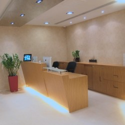 Reception of business center. Contemporary design. Central air-conditioning. (Miramar Tower)