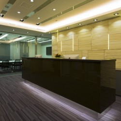 Reception of business center. Grand and glamorous. Central air-conditioning. (Millennium City 5)