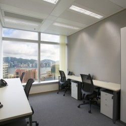 A room of multiple workstations. open view with abundant natural light. (Millennium city 5)