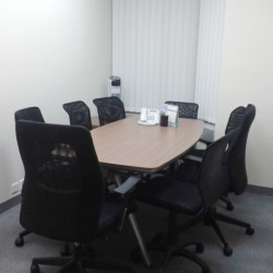 Conference room of business center. Office furniture of good quality provided. (Kowloon Building)