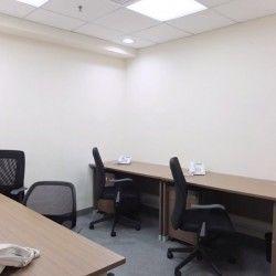 A room of multiple workstations. Office furniture including cabinet provided. (Kowloon Building)