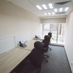 A room with multiple workstations. Abundant natural light with open view. Office furniture provided. (Causeway Bay Plaza 2)