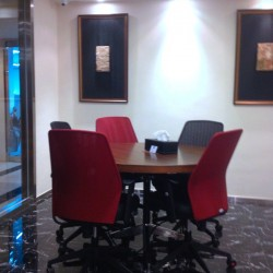 Conference room with superb office furniture. Stylish and modish design. (The Sun's Group Centre)