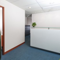 Reception of business center. Equipped with CCTV monitoring facilities. (Causeway Bay Plaza 1)