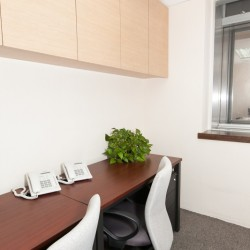 A room of double workstations. Office furniture including cabinet provided. (Causeway Bay Plaza 1)