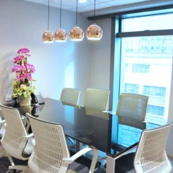 Conference room of business center. Cozy style. Office furniture provided. (Central 88)