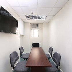32B06_Conference room of business center. Equipped with a TV. (280 Portland Street)