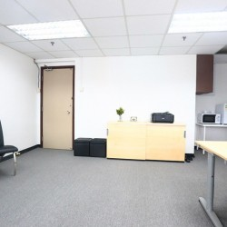 Office equipment: Photocopier, cabinet, microwave oven and fridge. (King Centre)