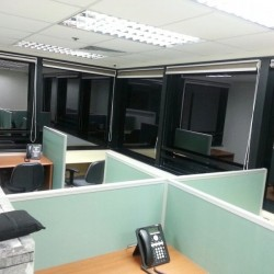 Multiple workstations. Efficient layout. Sufficient natural light. (Prosperity Centre)