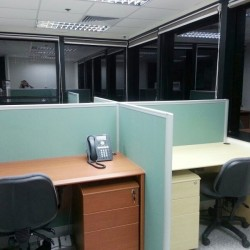 Multiple workstations. Office furniture including cabinet provided. (Prosperity Centre)