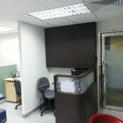 Reception of business center. Office furniture including cabinet provided. (Prosperity Centre)