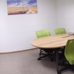 Conference room of business center. Equipped with a white board and teleconference facilities. (Silver Fortune Plaza)