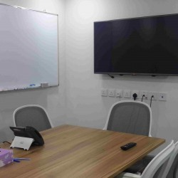 40A04_Meeting Room with TV and white board