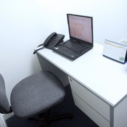 Room of business center. Single workstation. Broadband network. Office furniture provided. (Eastern Commercial Centre)