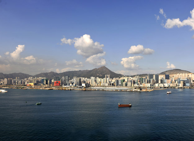 The picture shows nowadays Kowloon East.